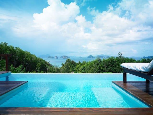 Little paradise, quiet private pool villa.