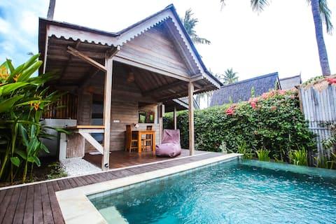 Villa Biru - One-bedroom villa with private pool