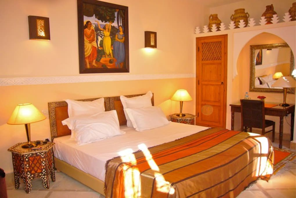 Charming room riad rabahsadia chambres d 39 h tes louer for Chambre d hotes marrakech