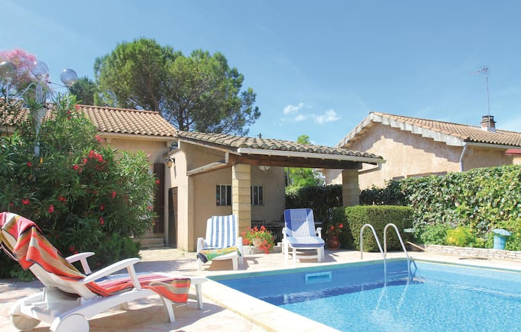 Amazing home in Donzère with WiFi and 1 Bedrooms