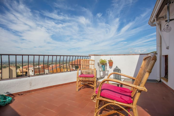 Casita Sant Onofre - lovely views and character