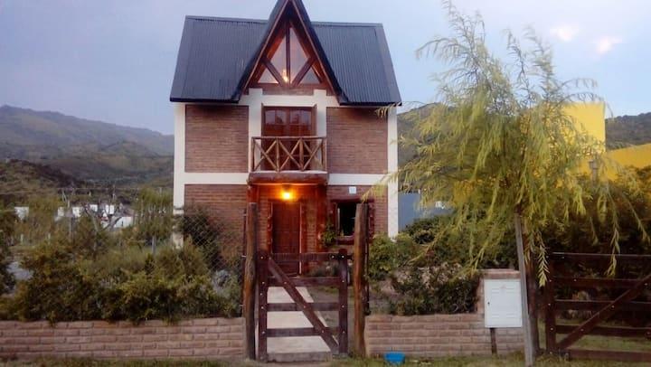 Casa Luz, en Potrero de los Funes, San Luis.