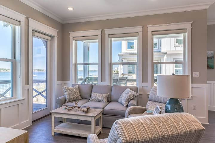 HAVE YOUR OWN HOME! WATER FRONT! BEACH ACCESS!