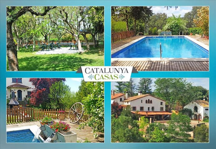 Masia de Gaia for up to 20- 39 guests in the Catalonia countryside! - Barcelona Interior - Casa de campo