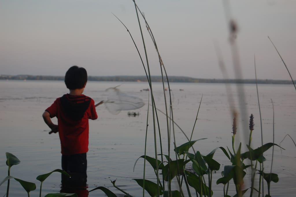 Enjoy the lake