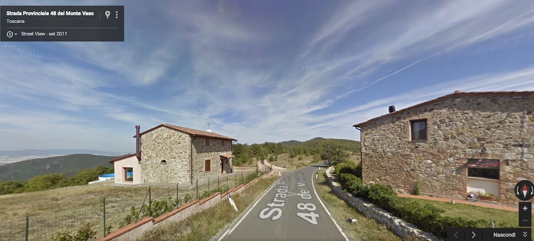 Tipical tuscany country side villa,