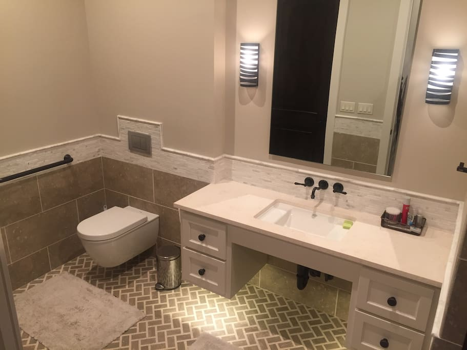 Large Bathroom (handicap friendly)