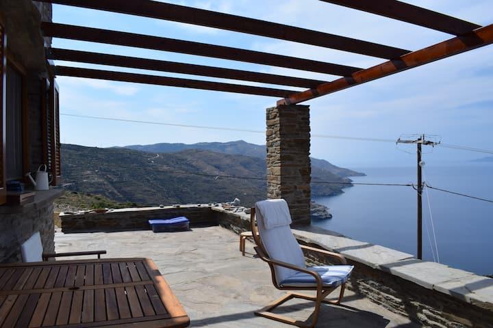 3h Andromache, Aegean Villa  in Andros/Greece
