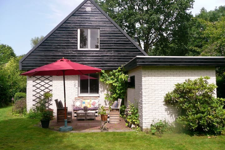 Comfortable holiday home with garden in a small park near Drents-Friese Wold