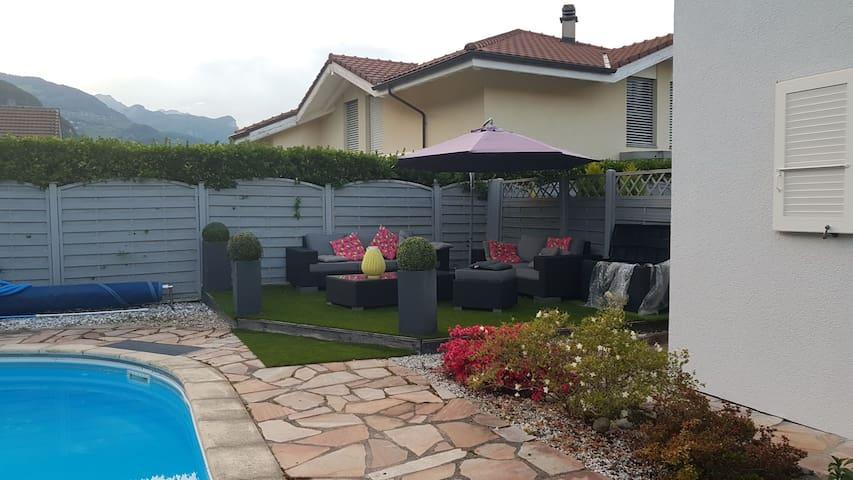 Lovely villa in Chablais VS