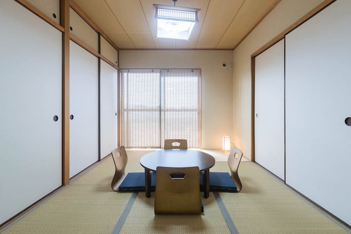 Easy access to Namba,Tennoji,Nara! Free WiFi - Osaka - Apartamento