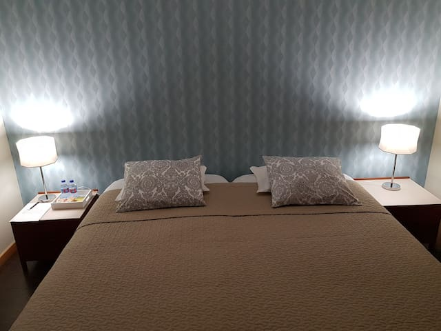 Next to the Airport/up to 2+1 people double room
