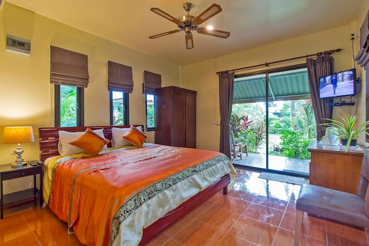 4 Beautiful bungalows across from Rawai MuayThai