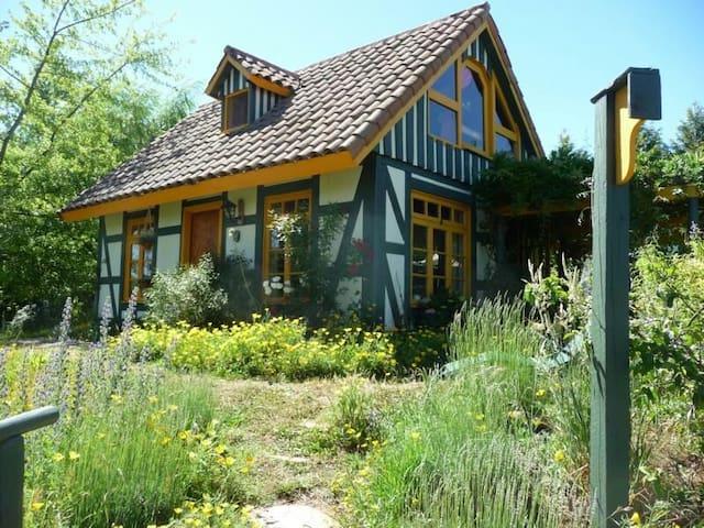 Casa Alemana en entorno rural