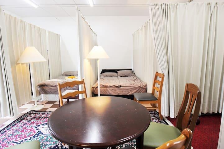 Room3★Free Parking◎WIFI★Luggage storage
