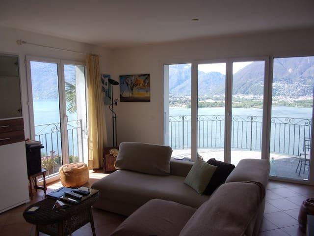Attikawohnung am Lago Maggiore - Vairano