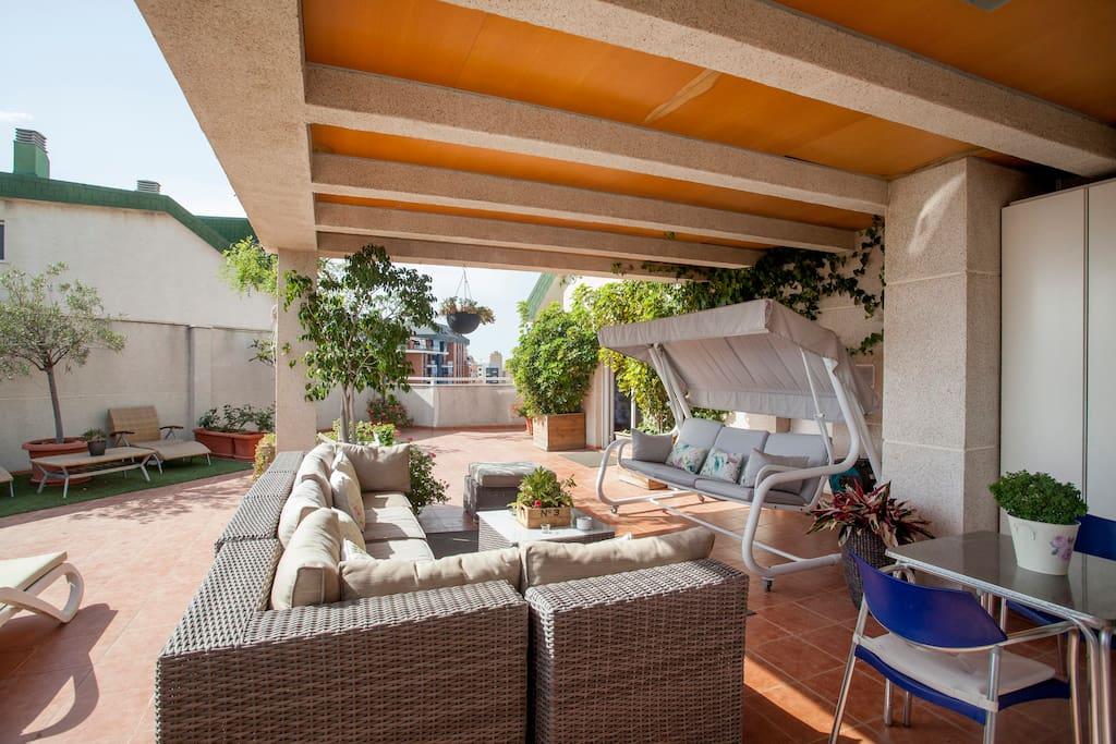 Habitaci n privada en atico d plex en val ncia comunidad for Habitacion con piscina privada madrid