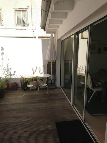 Loft con terraza en Puertochico - ซานตานเดร์ - อพาร์ทเมนท์