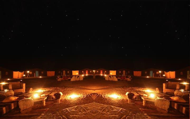 Nuit dans le désert avec les nomades en BB