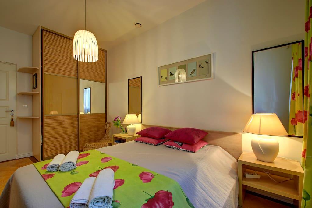 Master Bedroom. Comfy mattress