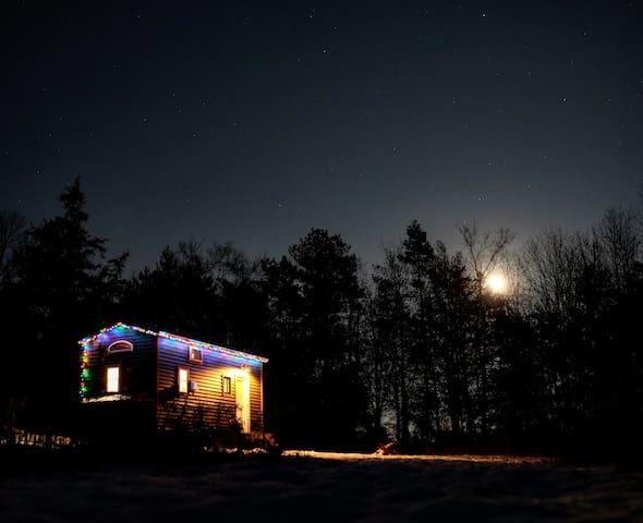 Starry nights await.  Christmas lights are seasonal.