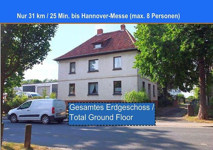 25 Minuten zur Hannover-Messe, 4 km zur Autobahn - Schellerten - Inny