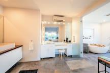 Second floor Master Bedrooms private ensuite bathroom