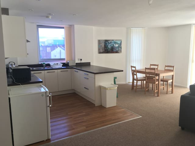 Kelham Island apartment in the heart of Sheffield