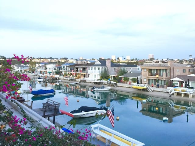 View of Grand Canal from Master BR Balcony