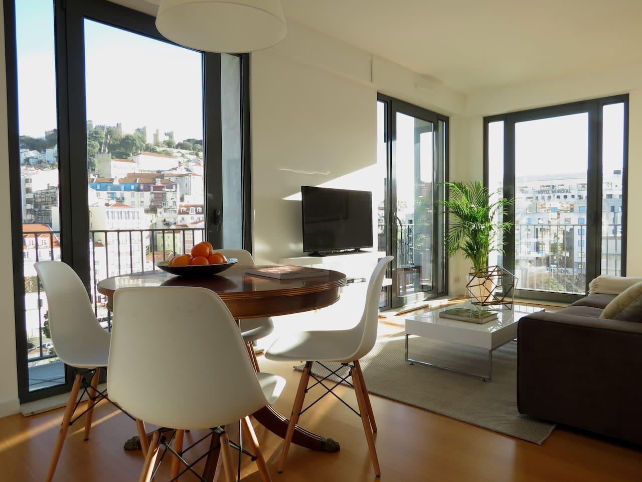 Trendy Rooftop Apartment
