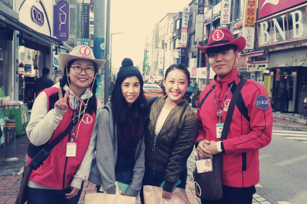 I am a volunteer to a guide for foreigners.