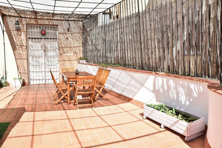 Born - Best location in center, loft with terrace
