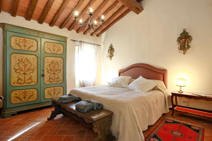 Loggia del Centone - Camera Verde - Matraia - Bed & Breakfast