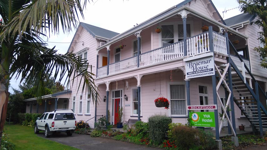 Braemar House Wanganui - Room 2 - Whanganui - Bed & Breakfast