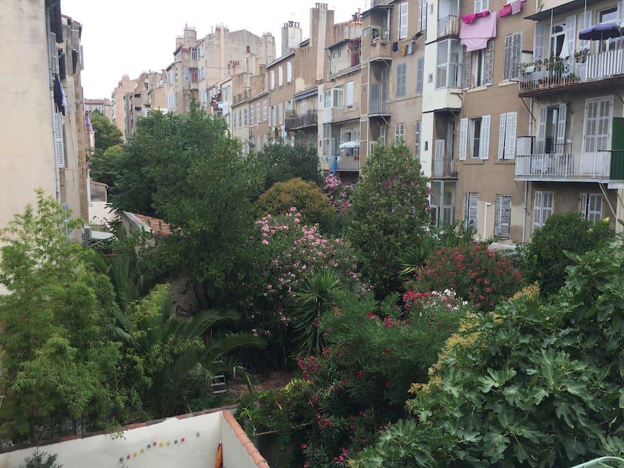 Terrasse charmante au coeur de marseille wohnungen zur for Terrasse de marseille