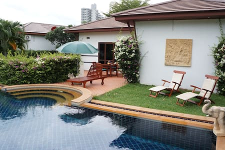 Tropicana Villa 2 Br big pool - Tambon Phe