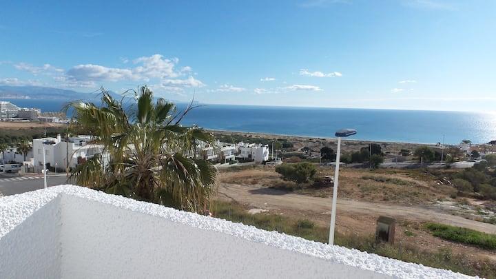My Beach Sanctuary with a Sea-to-Sky sun terrace