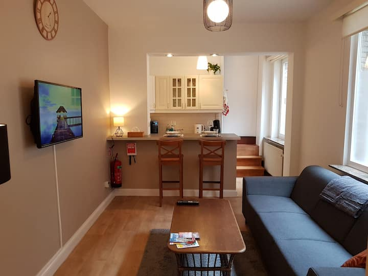Cosy 1 or 2 person apartment Top location 't Zuid