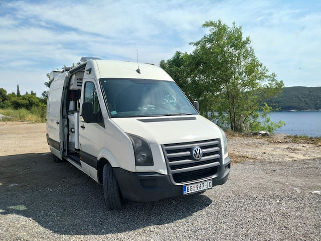 Luxury sports camper van RV motorhome / автодом