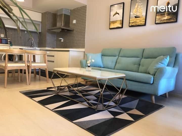 北欧超简约风格给您家的感觉的公寓