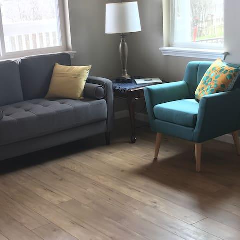 Zona soggiorno