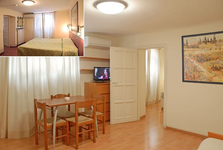 Elegant two-room apartments for 4 people