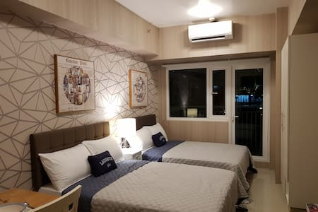 Hotel-like 2-Bed Suite above SM Mall