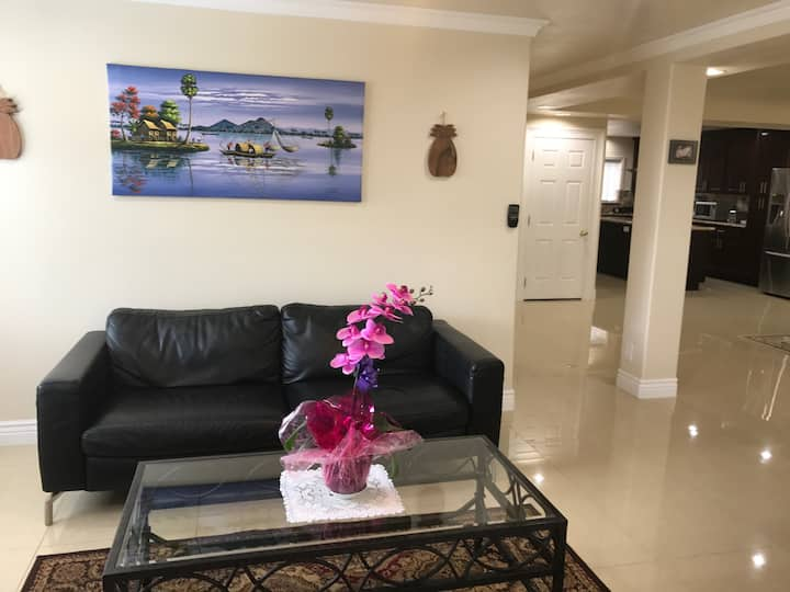 Large-Floor Home in The Gated Community.