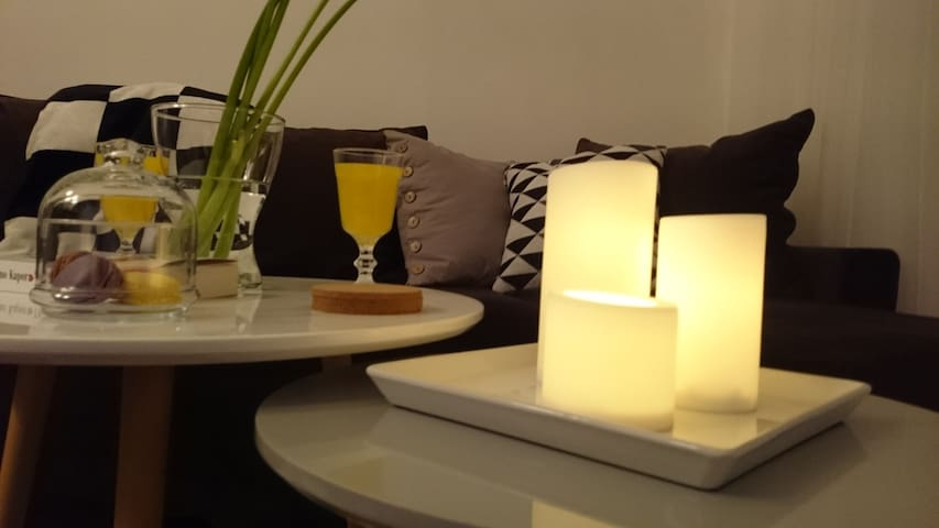 Relaxing And Modern Near The Danube - Beograd - Apartament