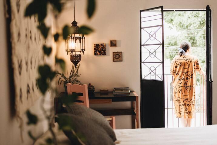Habitación 2 (Gato) Casa Bélgica Villa Calavera