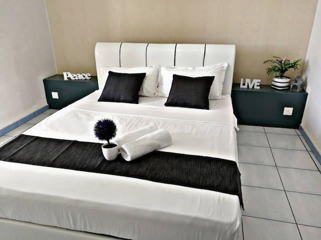 best apartment 2bedroom at kota kinabalu-5pax