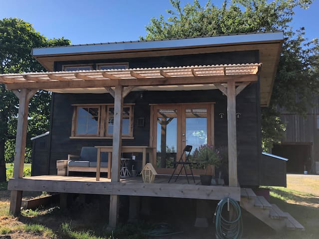 Tiny Home Farm Stay in Yellow Point