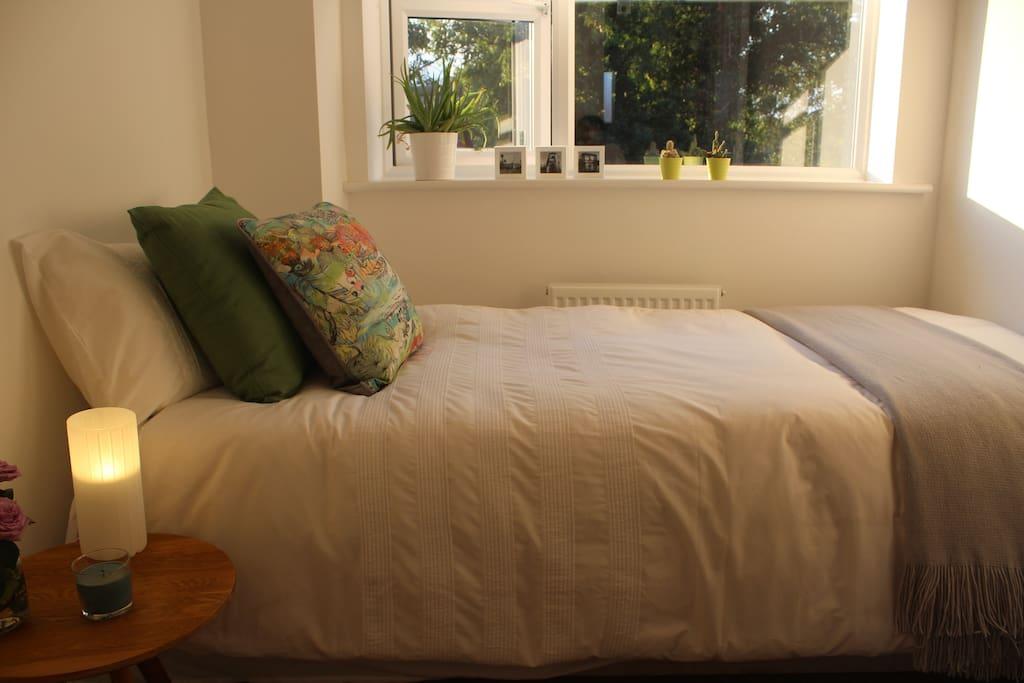 Cozy bed!