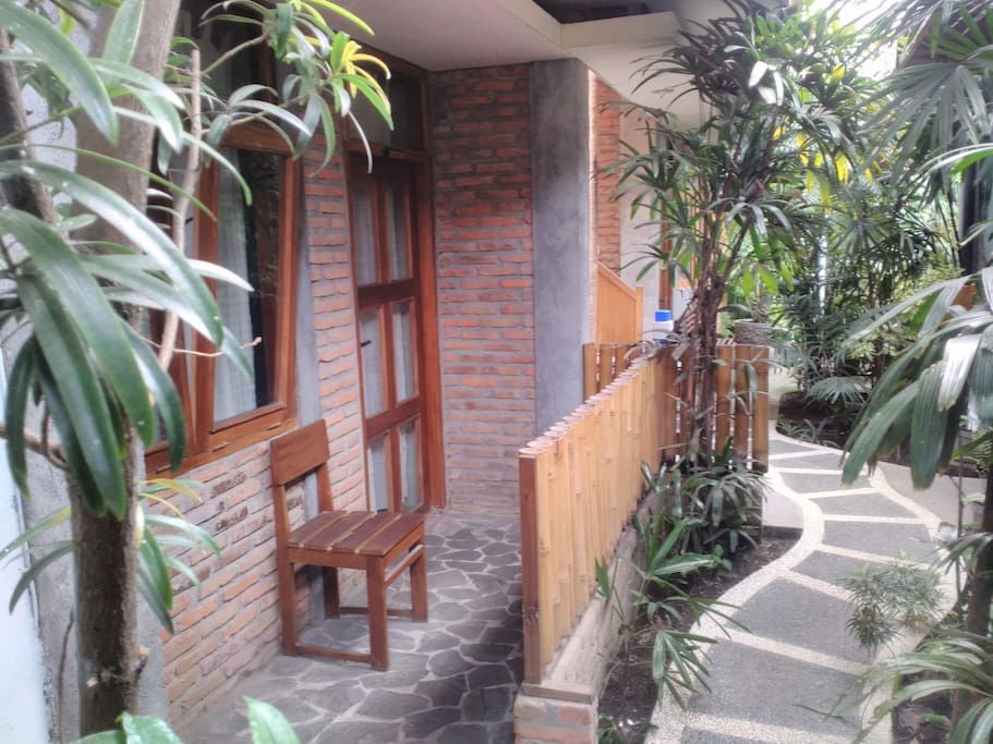 Front view of Room Dieng